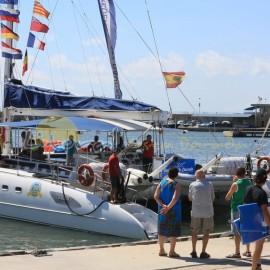 Barcos turísticos de Cambrils