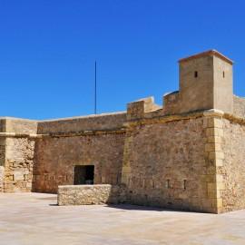 Castillo de Sant Jordi d'Alfama en Ametlla de Mar