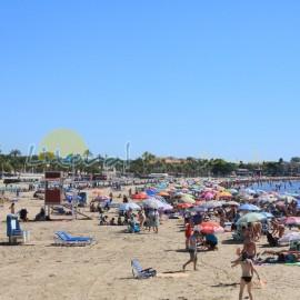 Gran playa Regueral en Cambrils