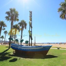 Jardines de la playa de Levante de Salou