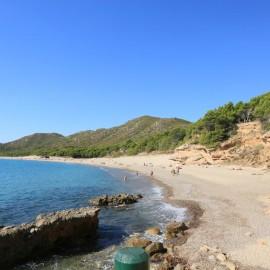 Playa nudista del Torn cerca de Miami Platja