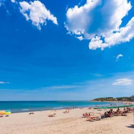 Arenal de la playa urbana de La Pineda