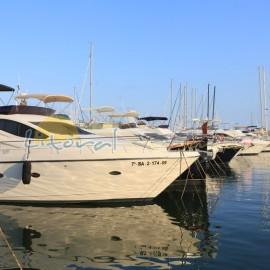 Paseo maritimo Cambrils puerto