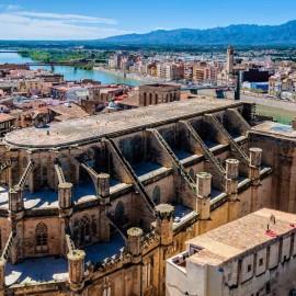 Centro de la ciudad de Tortosa