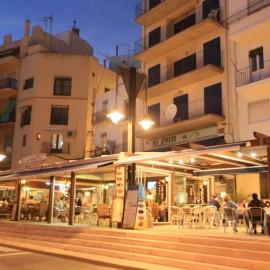 Restaurantes del paseo martítimo